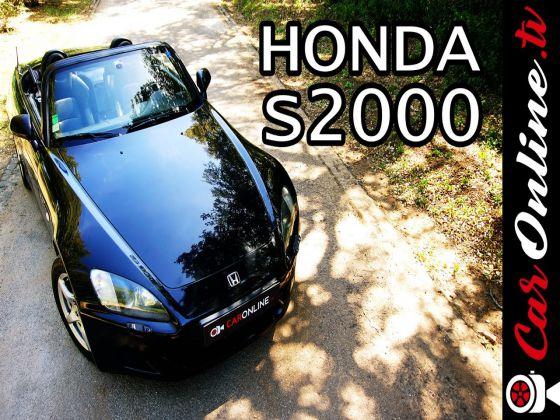 HONDA S2000: 240cv e 9000 RPM!
