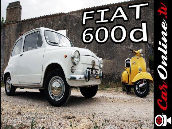 Como DIVERTIR com APENAS 29 cv - FIAT 600 de 1970